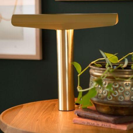 Beem Table Lamp Fixture Brass