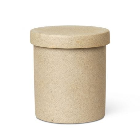 As Shown: Bon Round Box With Lid Large