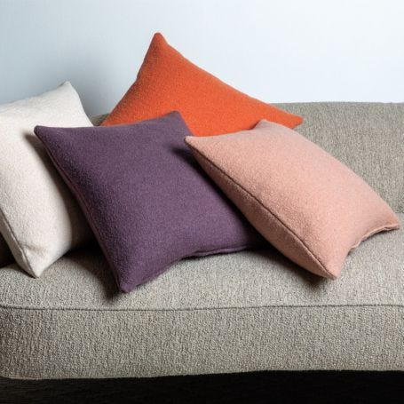Borough Bouclé Wool Cushion