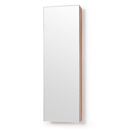 Slim Bathroom Cabinet with Mirror Short