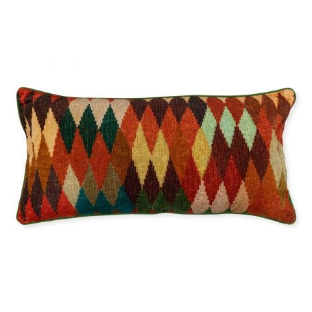 Diyedidi Lumbar Velvet Cushion 40 x 80cm