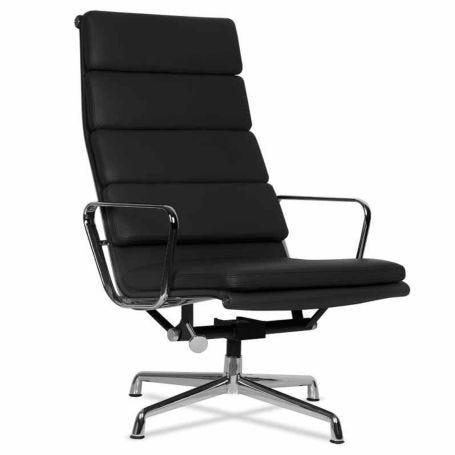 Eames EA 222 Soft Pad Lounge Chair