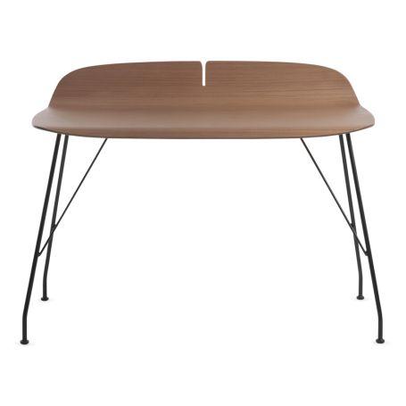 Earl of Wood Desk Black Ash Top