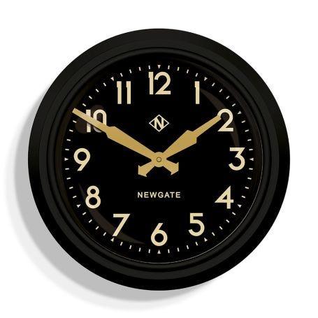 The Electric Clock Black