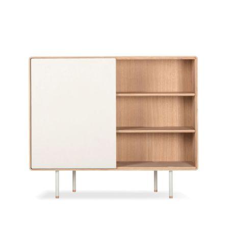 Fina Dresser 118 With Doors Oak Mushroom