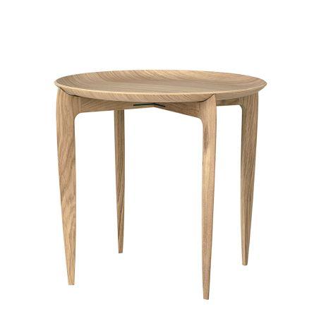 Tray Side Table Oak