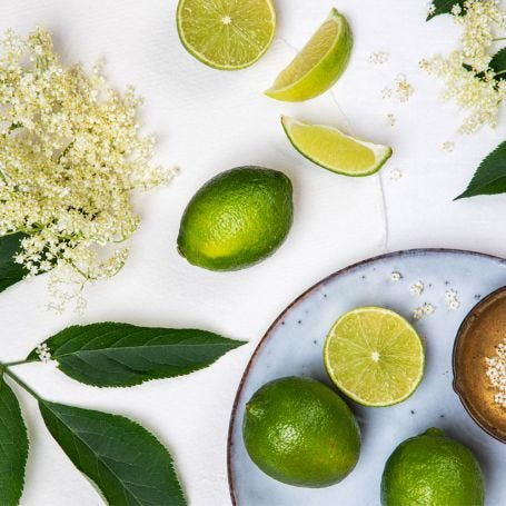 Elderflower & Lime Natural Reed Diffuser