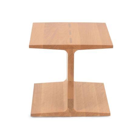 I-Beam Side Table Danish Oiled Oak