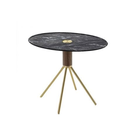 Jelly 40 Side Table Oval Grigio Carnico