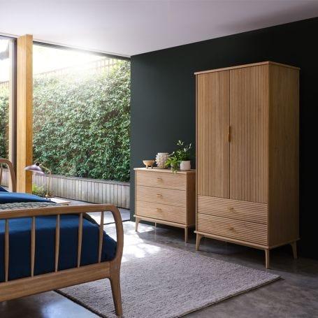 Kendal 2 Door Wardrobe Light Oak