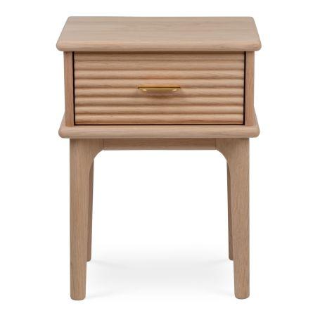 Kendal Bedside Table Light Oak