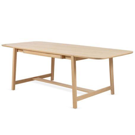 Lean Dining Table Oak