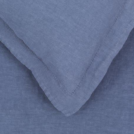 Washed Linen Bed Linen Blue