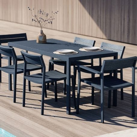 Eos Rectangular Outdoor Dining Table
