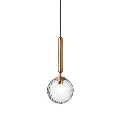 Miira 1 Pendant Light Brass
