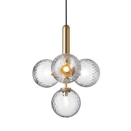 Miira 4 Pendant Light Brass