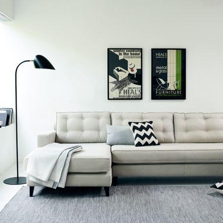 Mistral Left Hand Facing Corner Sofa