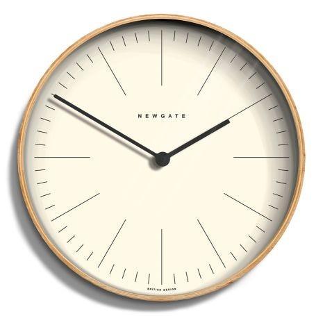 Mr Clarke Wall Clock Pale Line Large