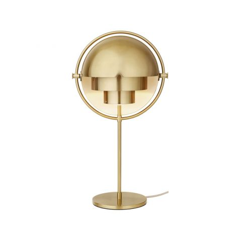 Multi Lite Table Lamp Brass Base