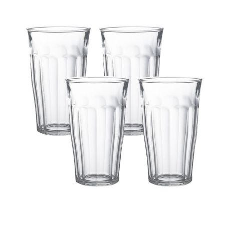 Picardie Glasses 50cl Clear Set Of 4
