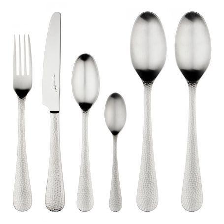 Planish Satin Cutlery 42 Piece Set