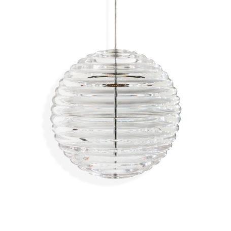 Press Sphere Pendant Clear