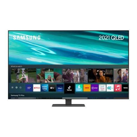 "Samsung 2021 75"" Q80A QLED 4K HDR Smart TV"