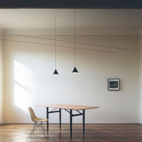String Light Cone Touch Dim