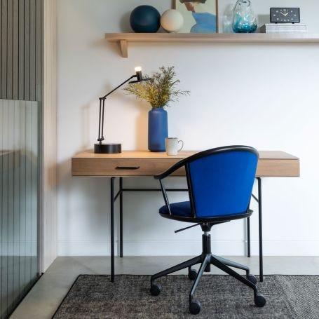 Disc LED Smart Desk Lamp Black