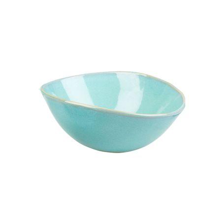 Teal Glaze Large Bowl