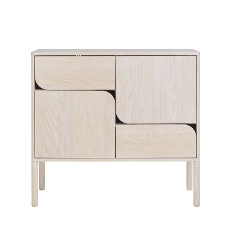 Verso Sideboard High Whitened Ash