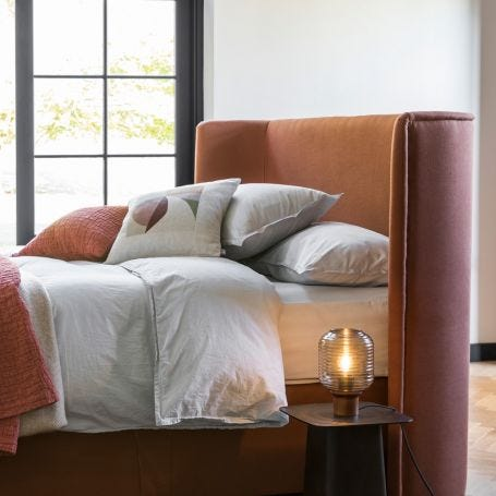 Washed Cotton Soft Grey Single Duvet Cover