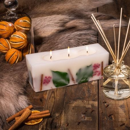 Botanicals Winter Spice Brick Candle