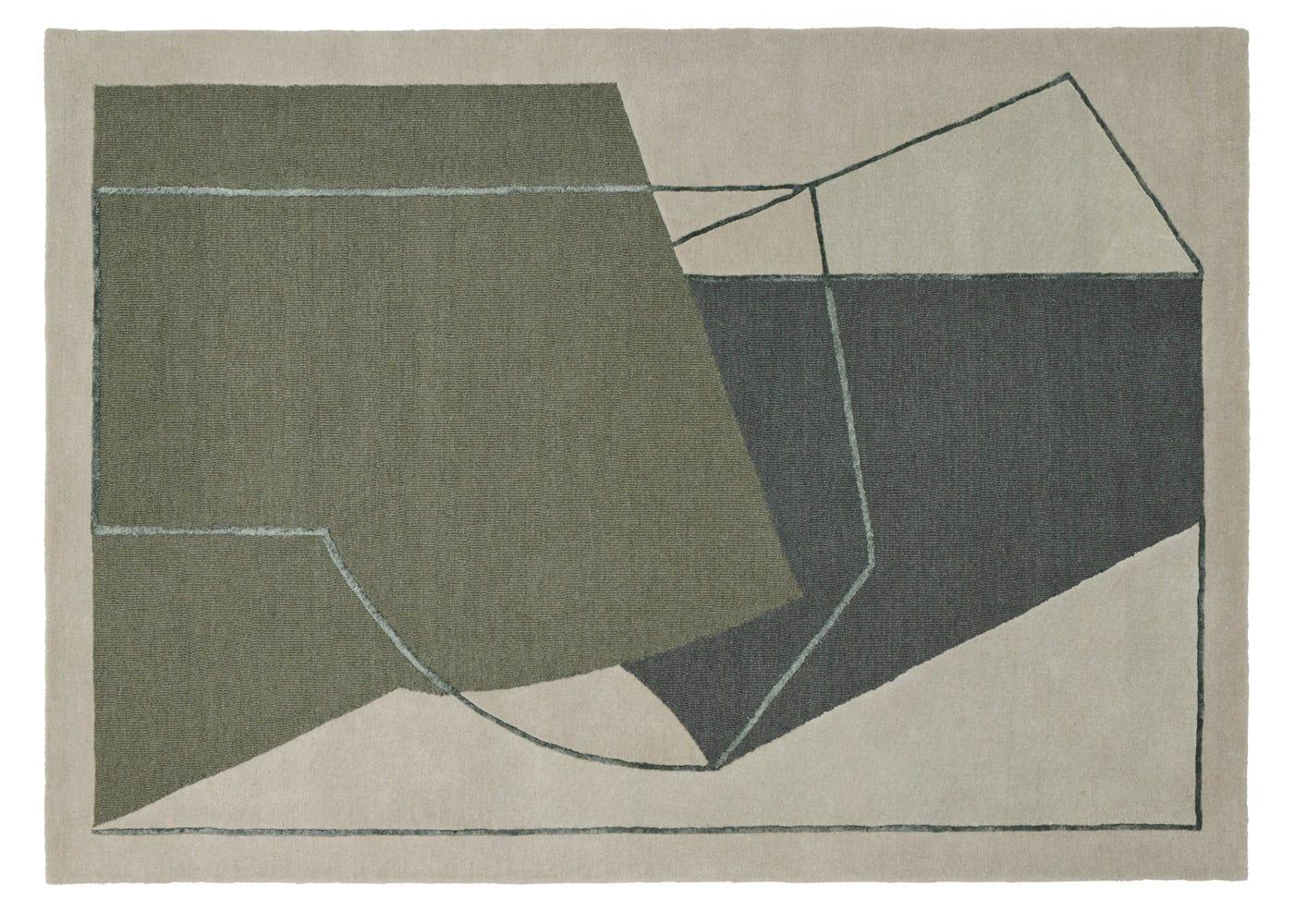 Linie Design Furbo Rug Green 140cm x 200cm