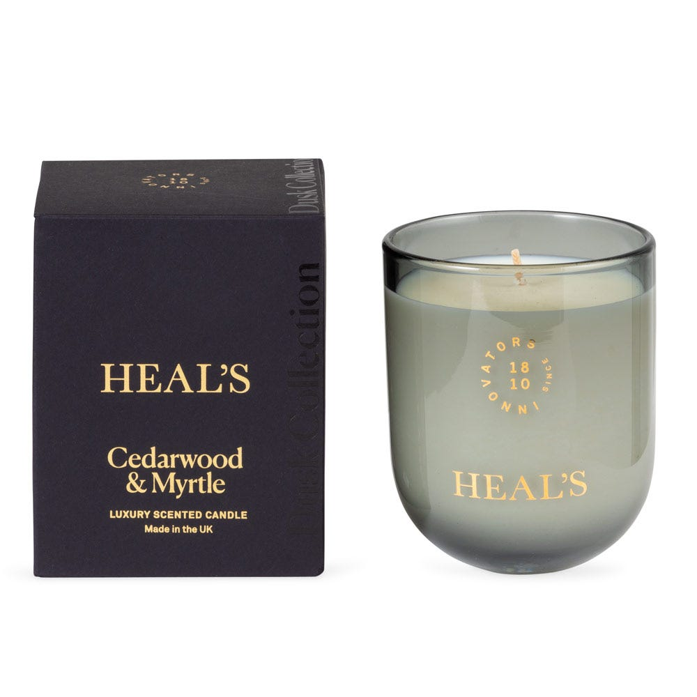 Heal's Cedarwood & Myrtle Dusk Candle