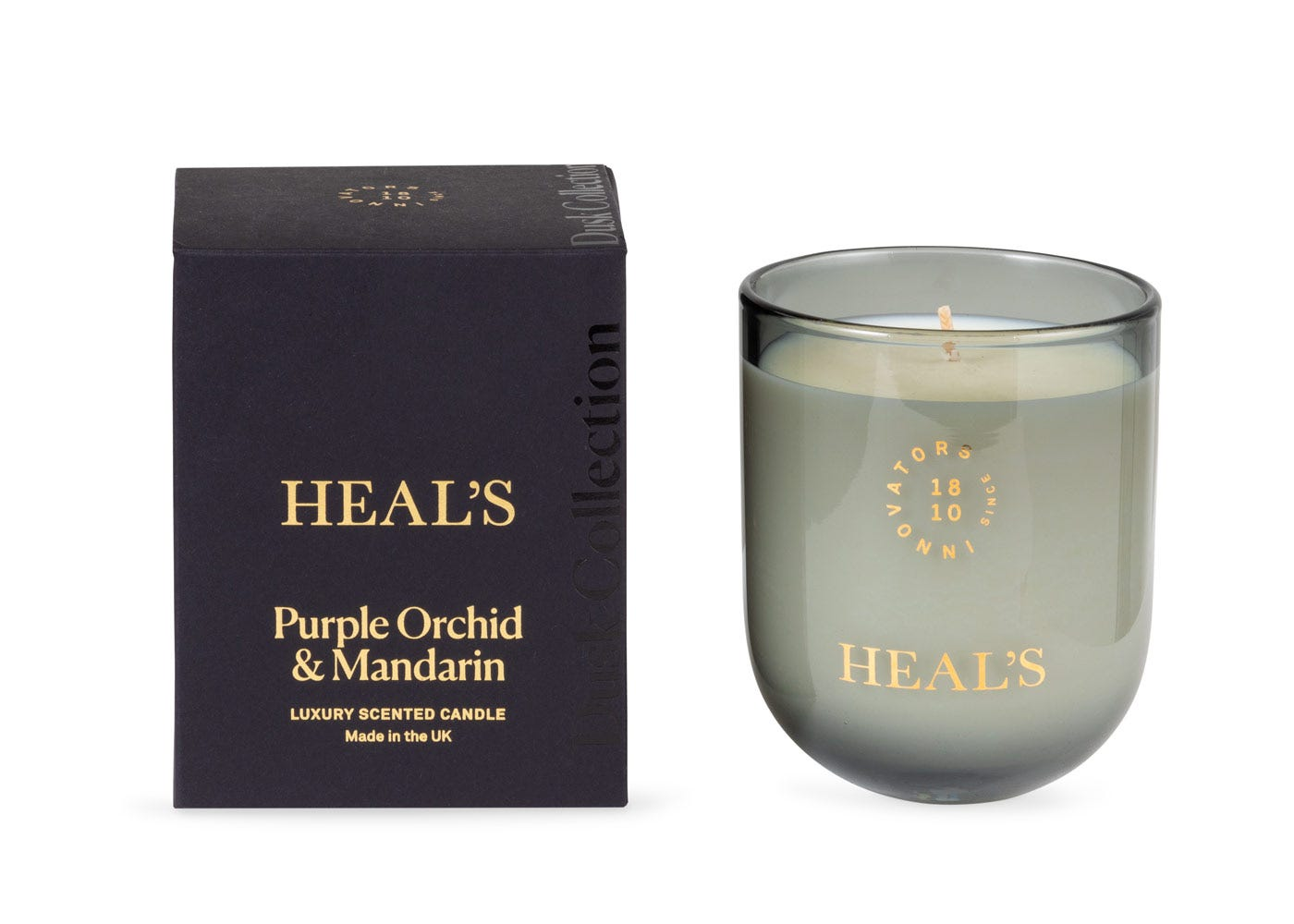 Heal's Purple Orchid & Mandarin Dusk Candle