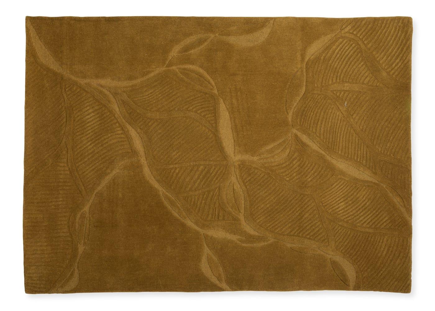 Linie Design Najlu Rug Mustard 170 x 240cm