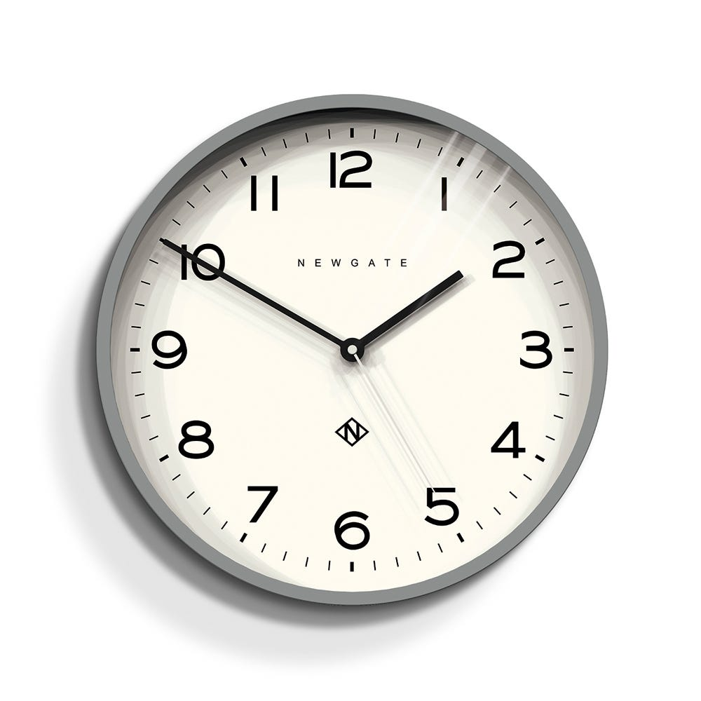 Echo Number Three Wall Clock Black Heal S