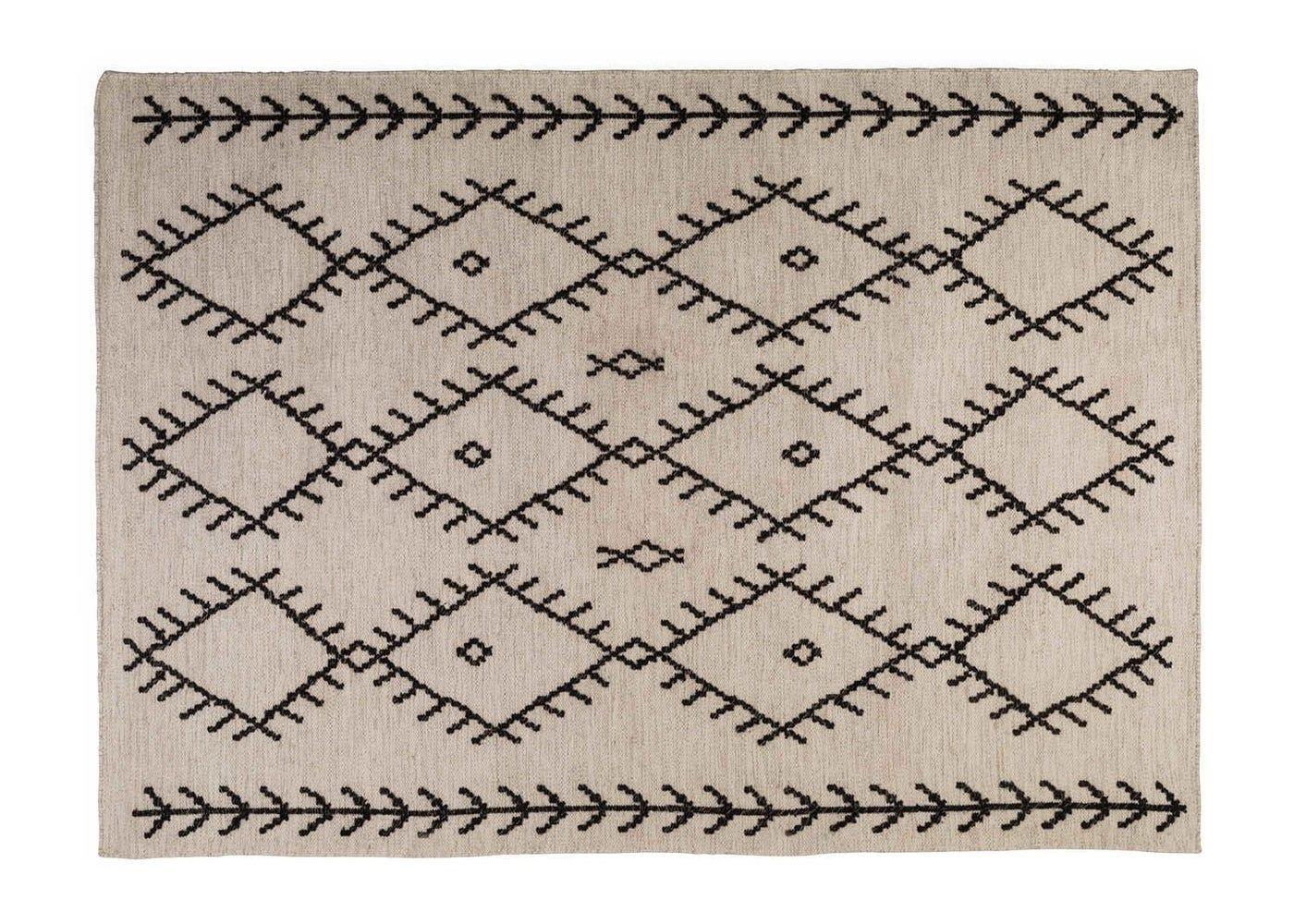 Linie Design Rometta Rug Ivory 170 x 240cm