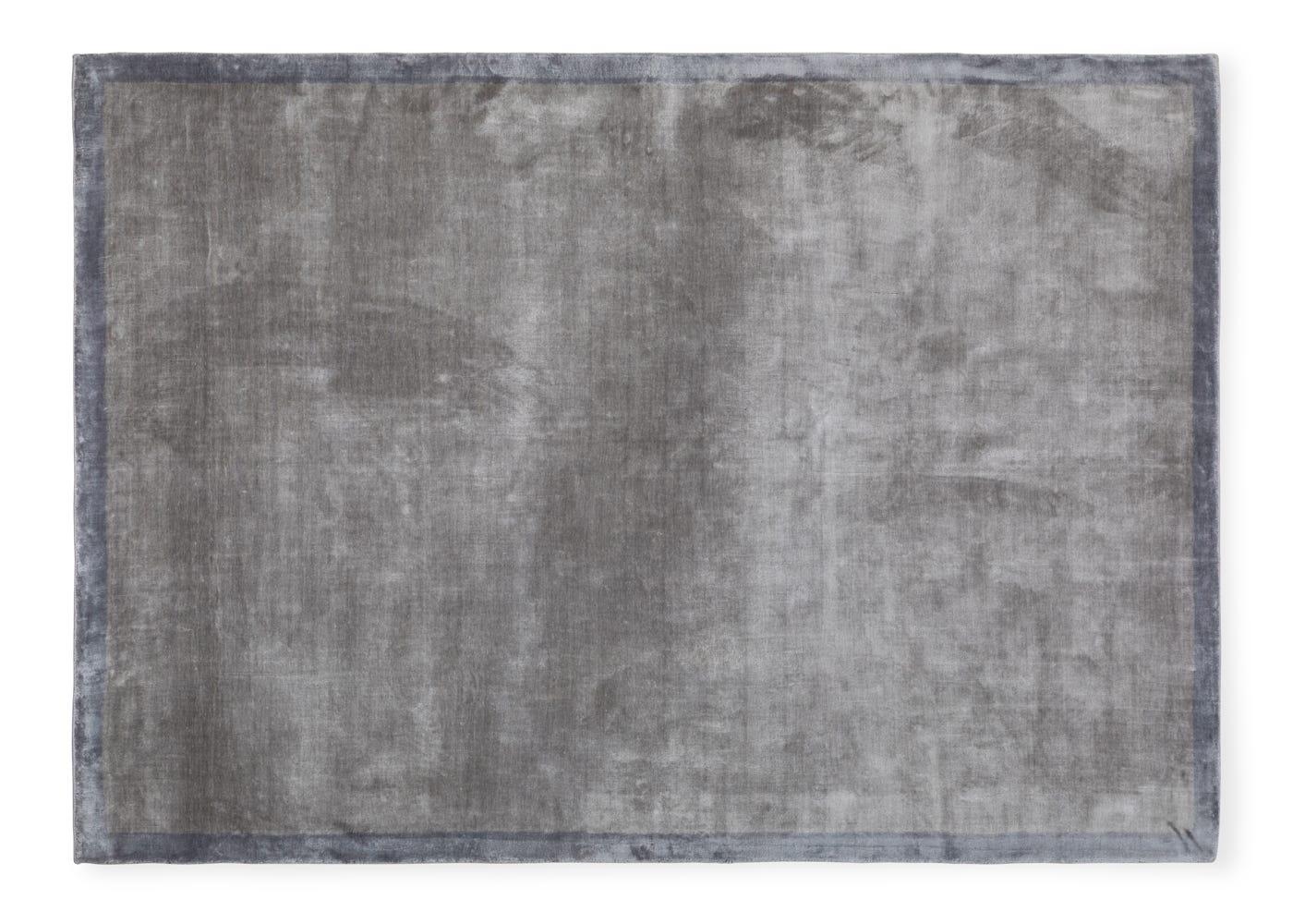 Heal's Scala Tencel Rug Silver 200 x 300cm