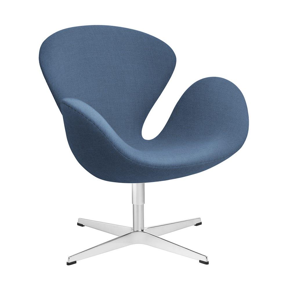 Fritz Hansen Swan Lounge Chair Light Blue
