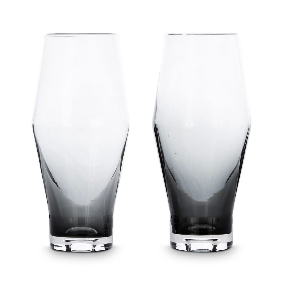 Tom Dixon Tank Beer Glass Set of 2 Black