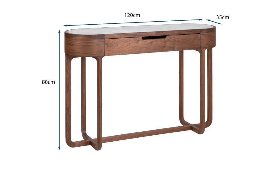Anais Console Table Marble