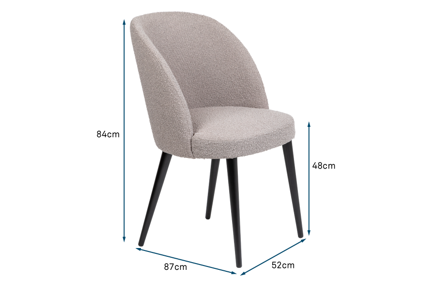 Austen Dining Chair Boucle