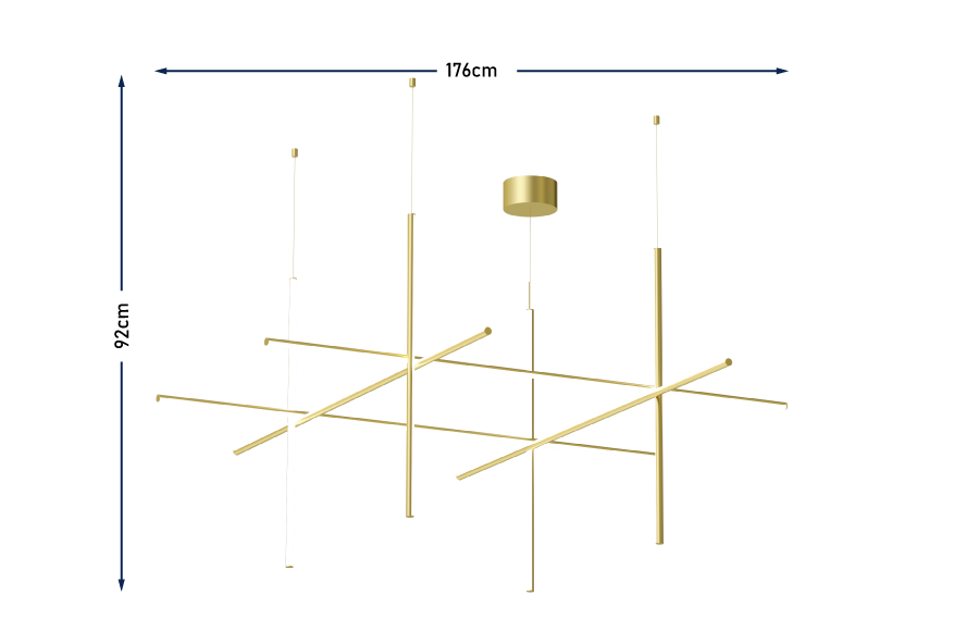 Coordinates S4 Pendant Champagne