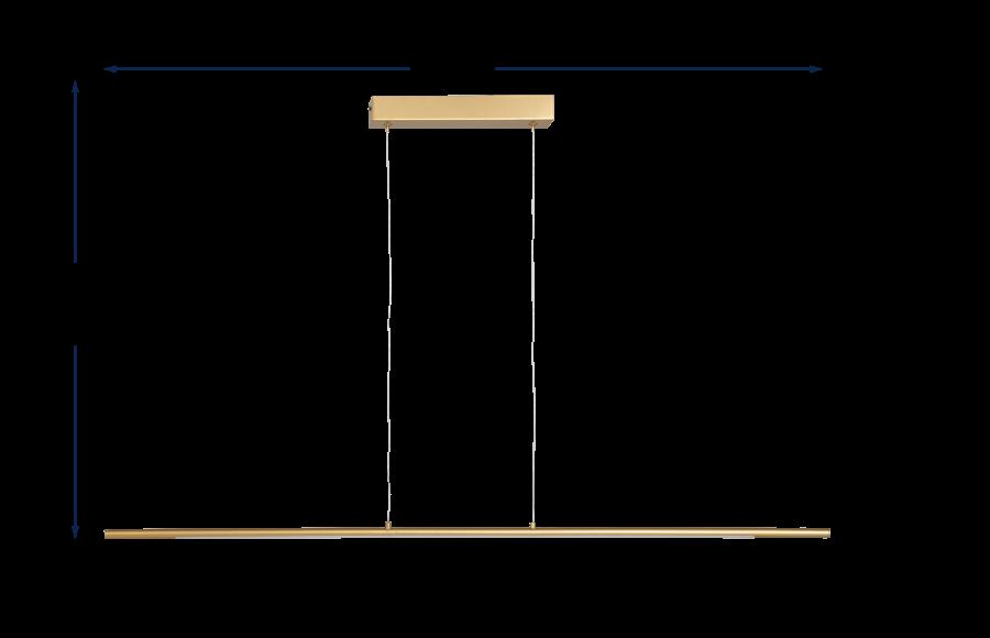 Saber LED Long Pendant