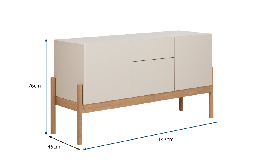 Cappo Sideboard Mushroom