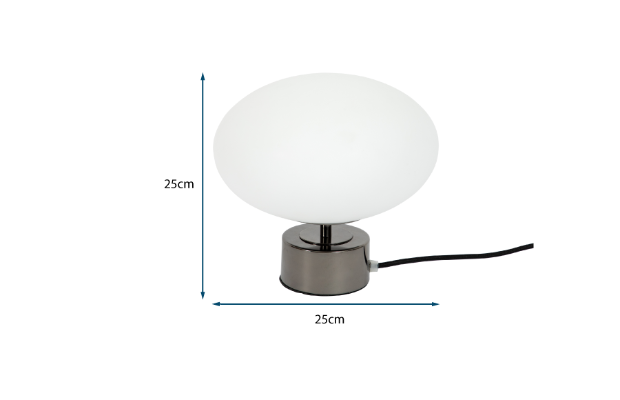 Ellipse Touch Table Lamp