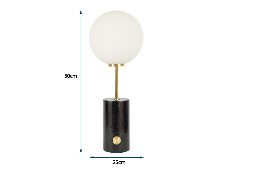 Column Large Table Lamp