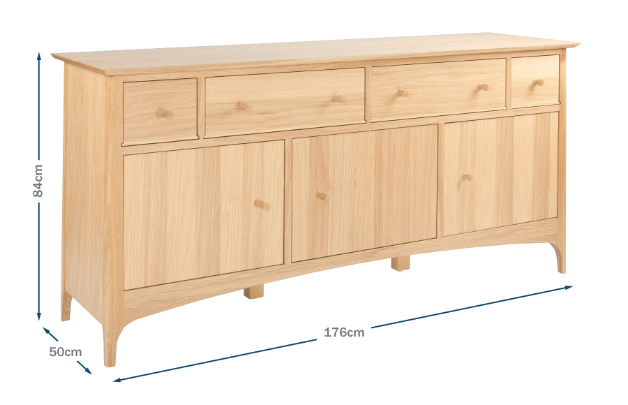 Blythe Large Sideboard Technical